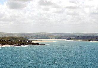 Trebetherick - Image: Camelestuary Cornwall