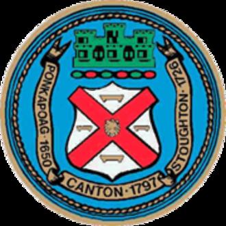 Canton, Massachusetts - Image: Canton MA Town Seal