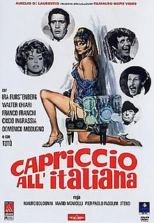 <i>Caprice Italian Style</i> 1967 anthology film
