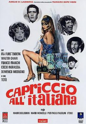 Caprice Italian Style - Film poster