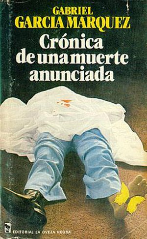 Chronicle of a Death Foretold - First edition (Colombia)
