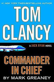 <i>Commander in Chief</i> (novel) 2015 political thriller novel