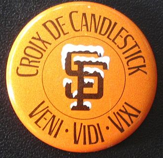 "Candlestick Park - ""I came, I saw, I survived."""