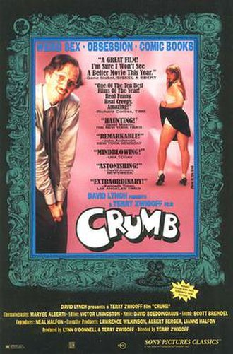 Crumb (film) - Theatrical release poster