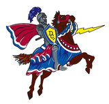 Dundee Crown's mascot, the Charger