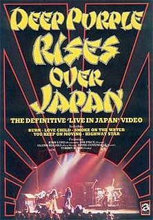 <i>Rises Over Japan</i> 1985 live video album by Deep Purple