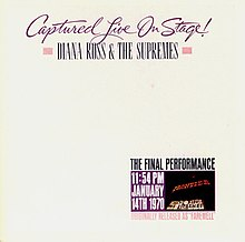 1992 reissue cover, Captured Live on Stage!.