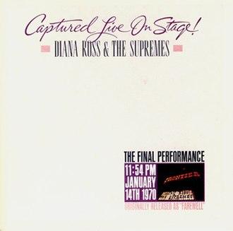 Farewell (The Supremes album) - Image: DRATS Captured Farewell