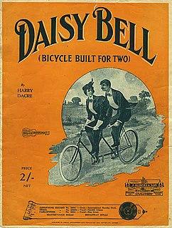 Daisy Bell Popular song
