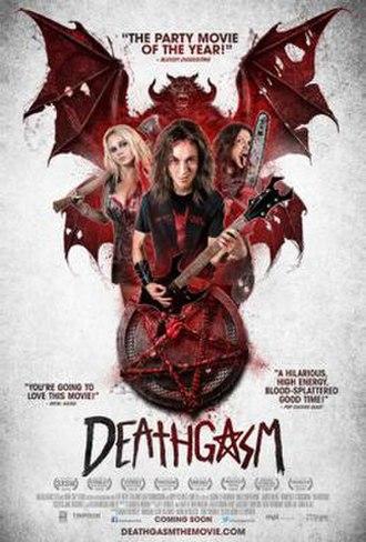 Deathgasm - Image: Deathgasm poster