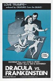 <i>Dracula vs. Frankenstein</i> 1971 film directed by Al Adamson