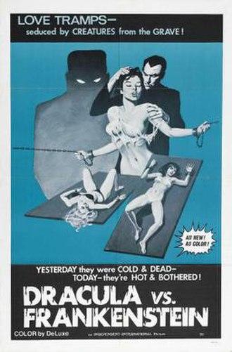 Dracula vs. Frankenstein - Theatrical release poster