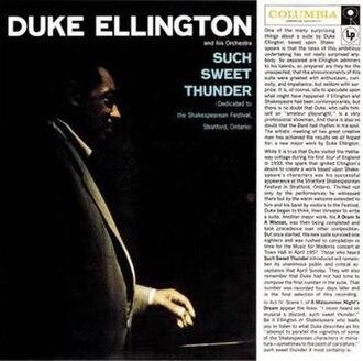 Such Sweet Thunder - Image: Duke Ellington Such Sweet Thunder
