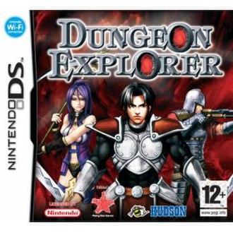 Dungeon Explorer: Warriors of Ancient Arts - Image: Dungeon Explorer cover art