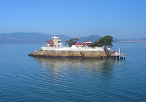 East Brother Island Light - Image: East Brother Island Lighthouse, San Pablo Bay, CA