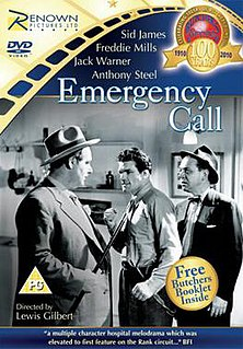 <i>Emergency Call</i> (1952 film) 1952 film by Lewis Gilbert