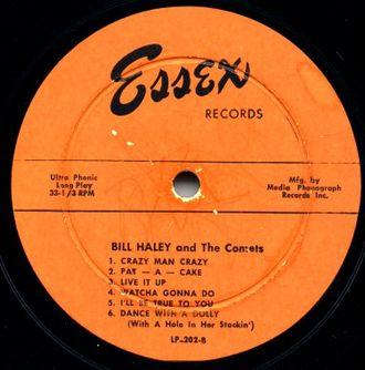 Essex Records - Bill Haley & His Comets