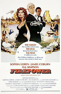 <i>Firepower</i> (film) 1979 film by Michael Winner