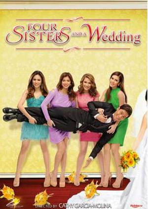 Four Sisters and a Wedding - Theatrical movie poster