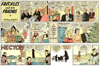 Merrill Blosser - Merrill Blosser's Freckles and His Friends and Hector (December 21, 1947)