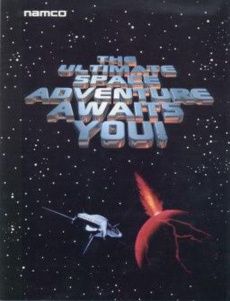 Galaxian 3 - North American arcade flyer