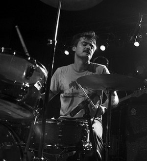 Jerry Fuchs - Fuchs performing live on drums