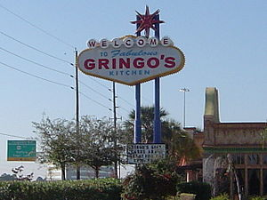 A Restaurant named Gringo's in Stafford, Texas