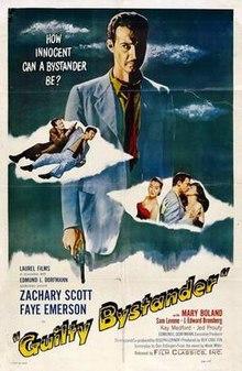 Kulpa spektanto 1950-filma poster.jpg