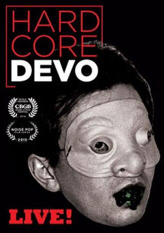 Hardcore Devo Live! - Image: Hard Core Devo Live Video Cover