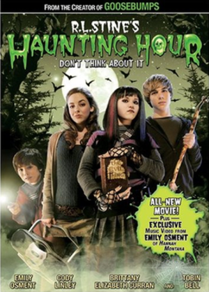 The Haunting Hour: Don't Think About It - DVD cover