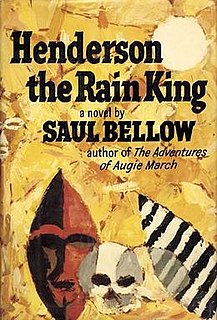 <i>Henderson the Rain King</i> novel by Saul Bellow