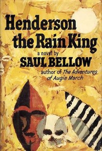 Henderson the Rain King - First edition cover