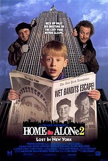 Home Alone 2: Lost in New York (1992) [English] SL DM - Macaulay Culkin, Joe Pesci, Daniel Stern, John Heard, Tim Curry, Brenda Fricker, Catherine OHara