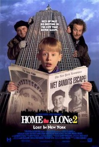 Home Alone 2: Lost in New York - Theatrical release poster