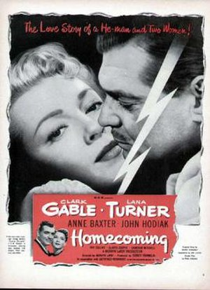 Homecoming (1948 film) - Theatrical release poster