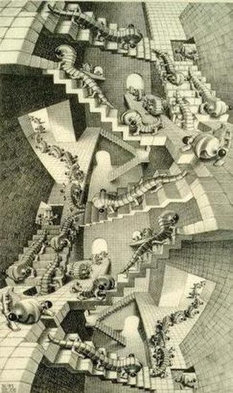 House of Stairs - Image: House Of Stairs (Escher)