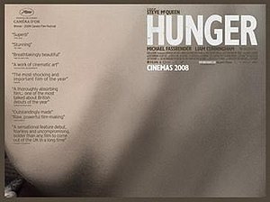 Hunger (2008 film) - UK release poster