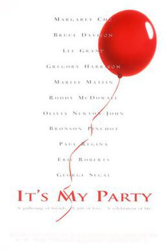 It's My Party (film) - Theatrical release poster