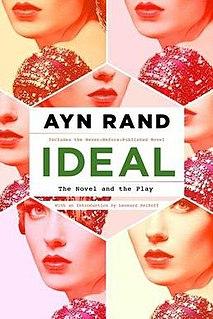 <i>Ideal</i> (novel) novel by Ayn Rand