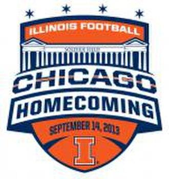 2013 Illinois Fighting Illini football team - Chicago homecoming logo