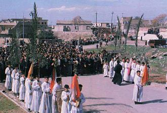 "Assyrian homeland - Traditional Christian Ceremony of ""Oshana"""