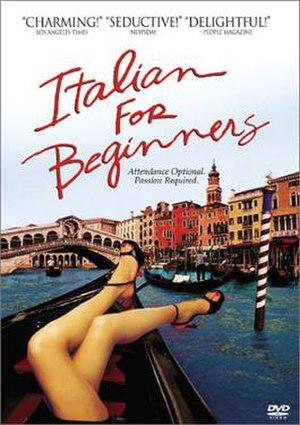 Italian for Beginners - DVD cover