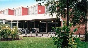 Joseph Eastham High School - The school hall, circa 1990