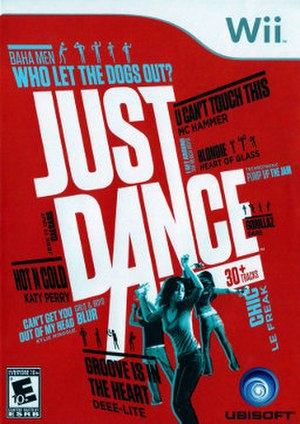 Just Dance (video game) - Image: Just Dance (Wii) boxart