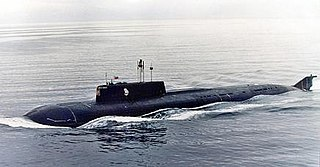 Russian submarine <i>Kursk</i> (K-141) Oscar-II class cruise missile submarine