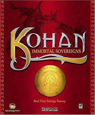 Kohan: Immortal Sovereigns - Image: KIS cover
