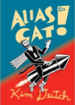 Alias the Cat! - Cover of the harcover first edition of Alias the Cat from Pantheon