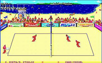Kings of the Beach - Screenshot