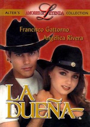 La Dueña (1995 Mexican TV series) - Image: La dueña poster
