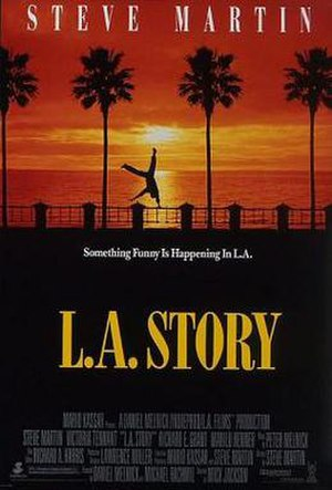 L.A. Story - Theatrical release poster